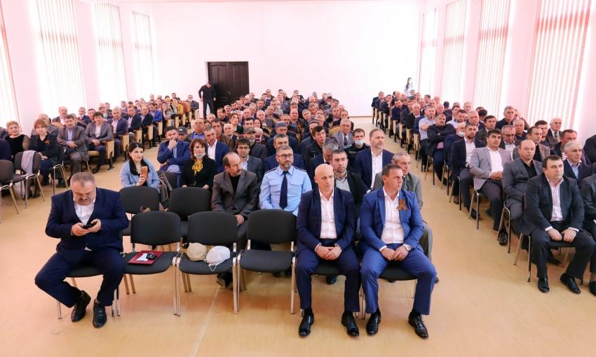 Глава Табасаранского района отчитался о проделанной за 2020 год работе