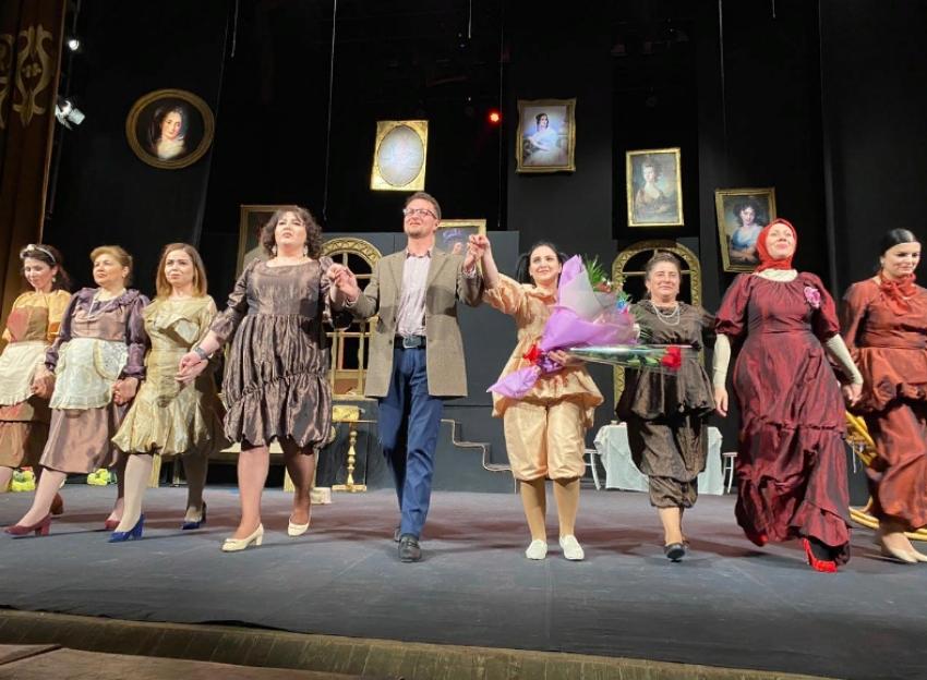 Табасаранский театр показал в Махачкале новый спектакль