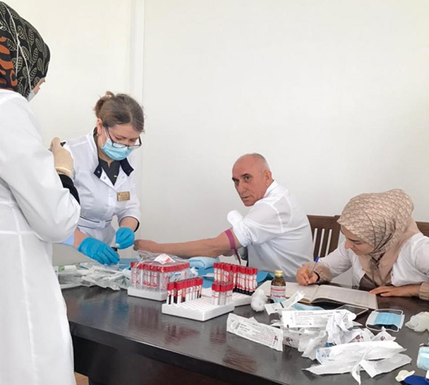 Работники администрации Рутульского района готовятся к вакцинации