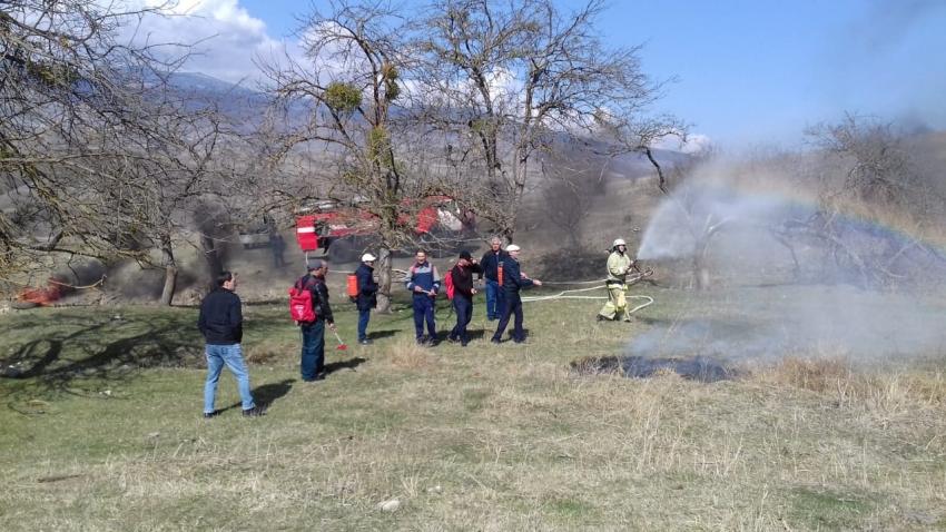 В Хивском лесничестве прошли противопожарные учения