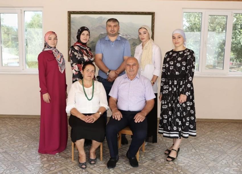 Дагестанская семья стала победителем конкурса «Семья года»
