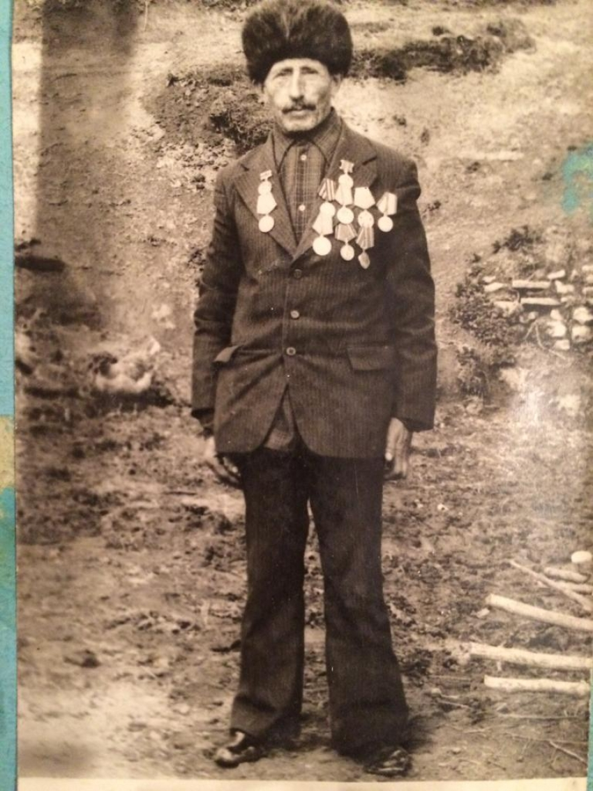 Ветеран ВОВ Агабала Адилов