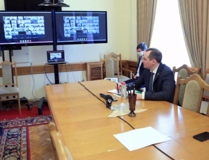 Артём Здунов принял участие в совещании Минприроды России