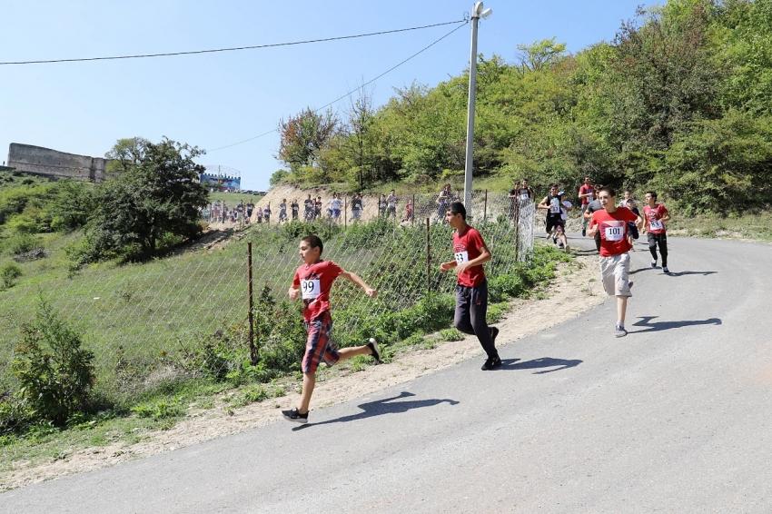 В рамках турнира «Табасаран-2020» состоялся пробег