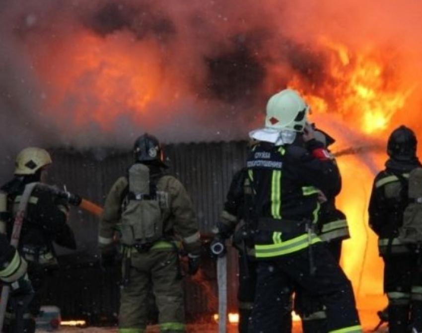 Пожар в Ботлихском районе уничтожил жилой дом