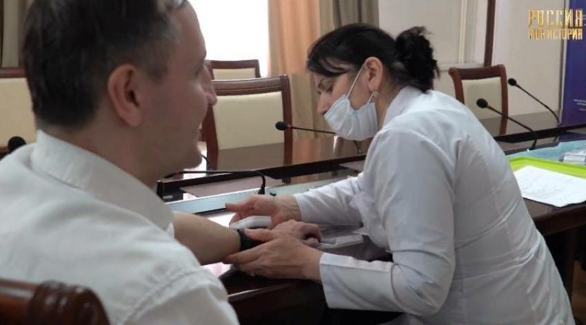 Сотрудники Исторического парка вакцинируются от COVID-19