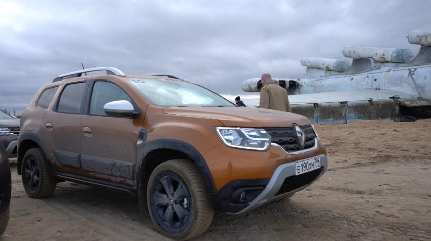 """Французский автогигант """"Renault"""" проводит тест-драйв обновленного кроссовера в Дербенте"""