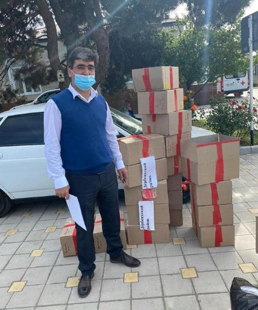Провизорные госпитали Дербентского района получили средства защиты