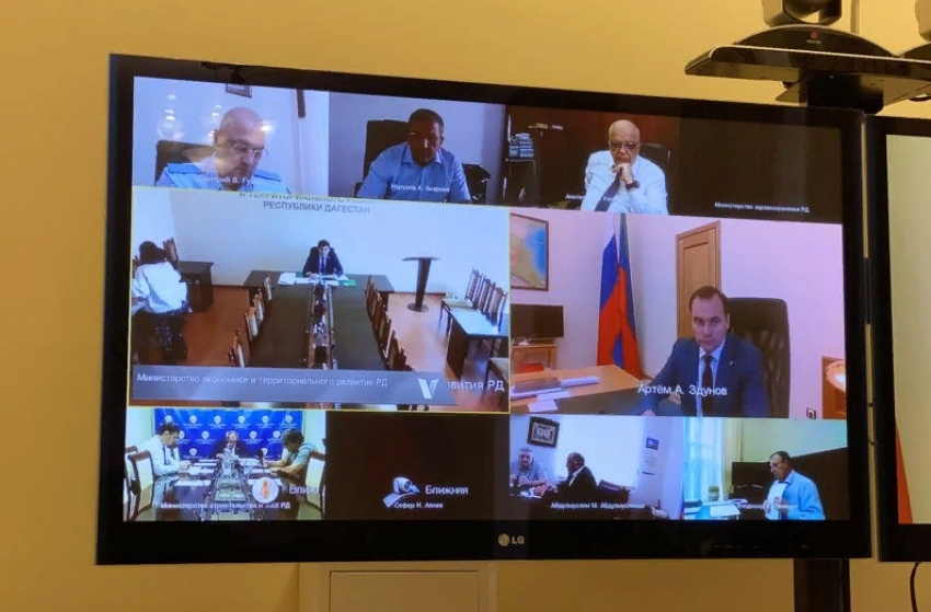 В Дагестане прошло заседание Оперштаба по устойчивому развитию экономики