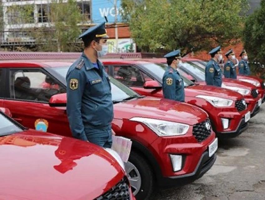 МЧС Дагестана получило новый автотранспорт