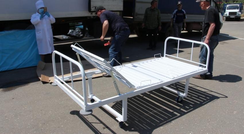 Правительство Москвы направило в Дагестан 600 функциональных кроватей