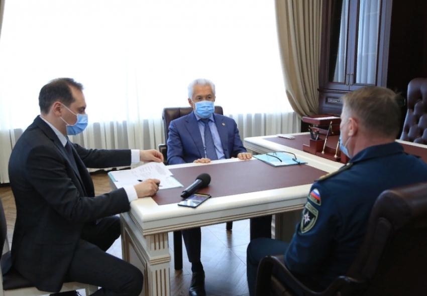 Владимир Васильев встретился с заместителем главы МЧС России