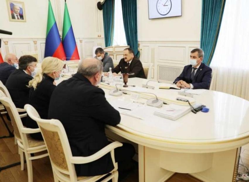 Сергей Меликов встретился с представителями ОНФ в Дагестане