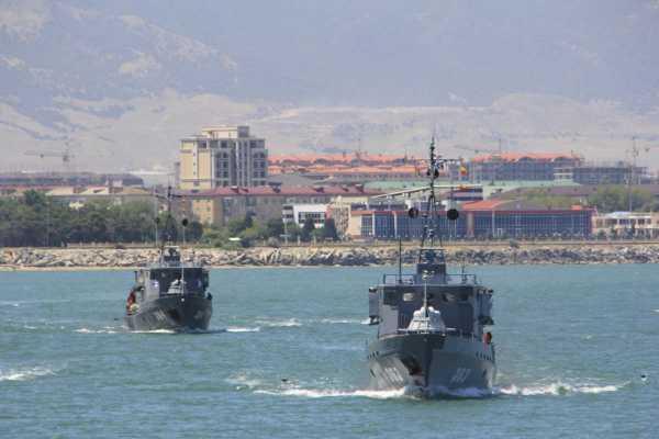 В день ВМФ в Каспийске зрители увидят более 10 эпизодов боевых действий на море