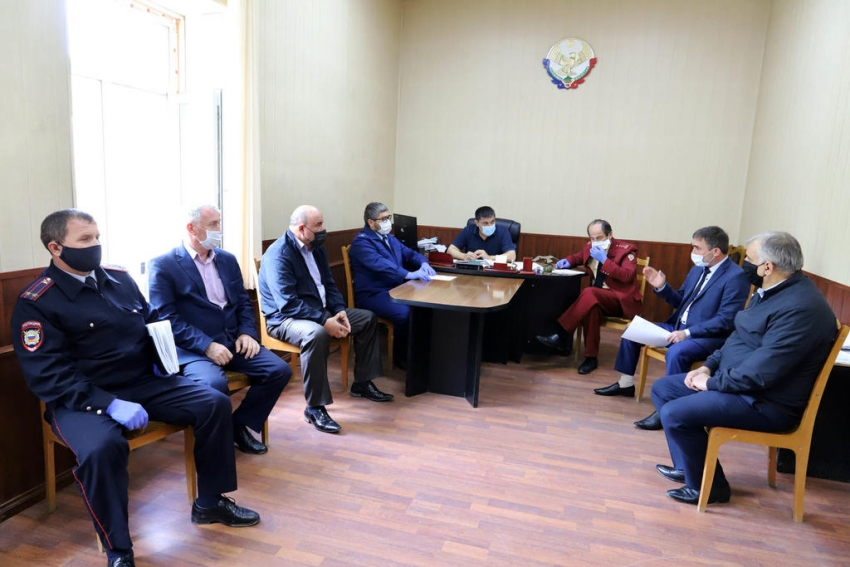 В Табасаранском районе прошло заседание оперштаба по коронавирусу