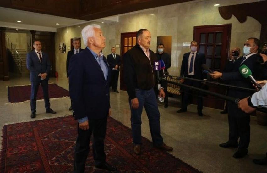 Врио главы Дагестана Сергей Меликов ответил на вопросы журналистов