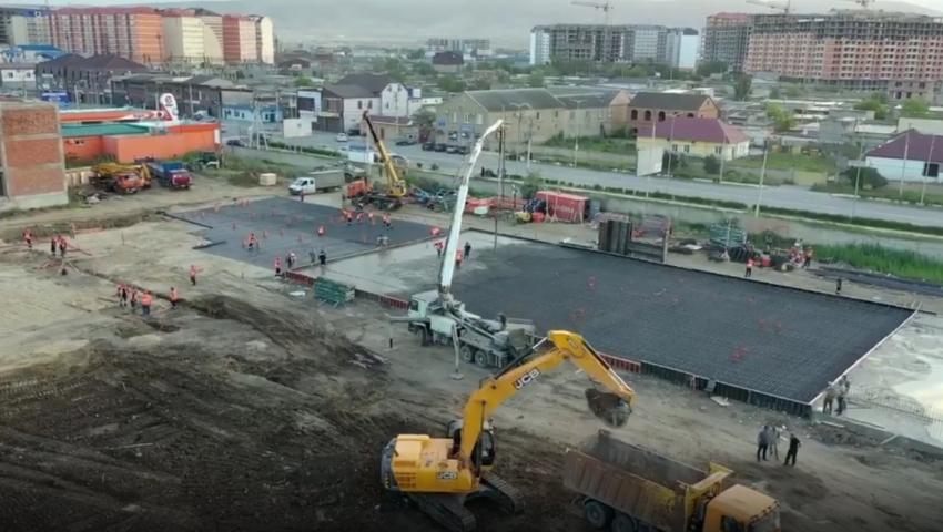 В Дагестане продолжается строительство медицинских центров