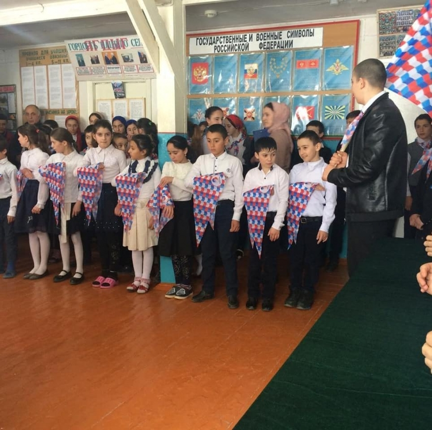 В Табасаранском районе более 60 учащихся вступили в ряды РДШ