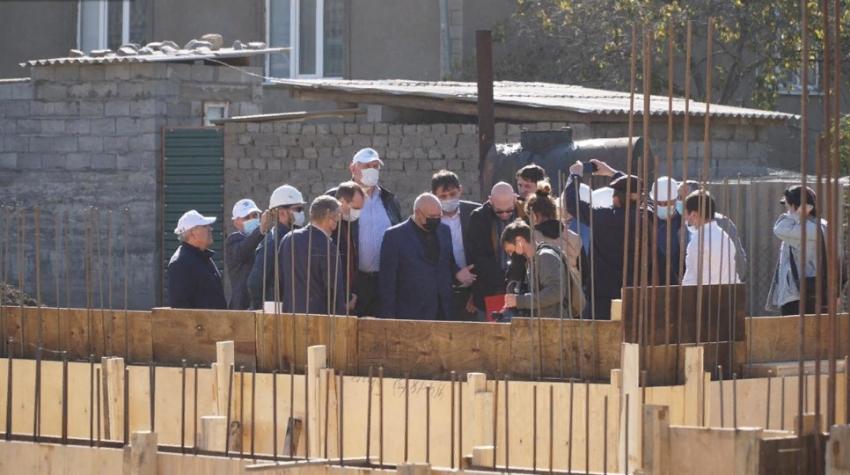 Первый замглавы минсельхоза России посетил Ахтынский район