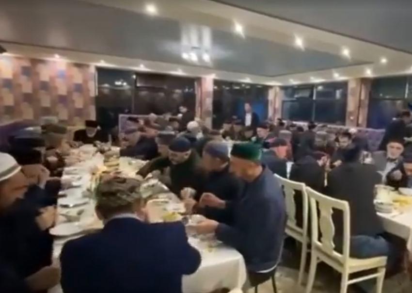 В Табасаранском районе прошёл общерайонный ифтар