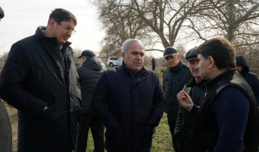 Абзагир Гусейнов с рабочим визитом посетил Кизлярский район