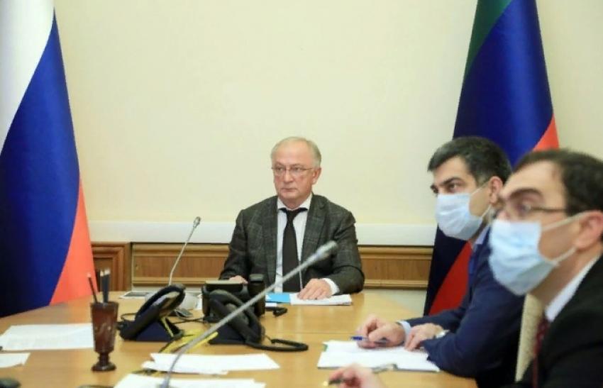 Врио премьер-министра Дагестана принял участие в совещании минэкономразвития РФ