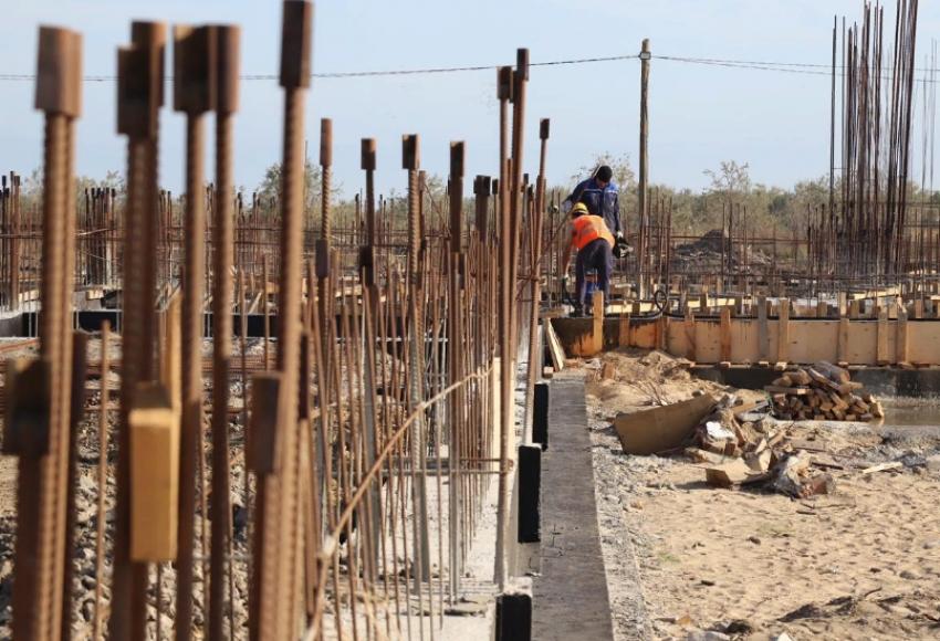 В Махачкале идет строительство Дома танца «Лезгинка»