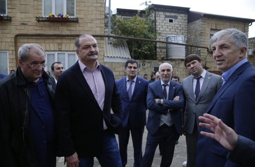 Сергей Меликов с рабочим визитом посетил Дербент