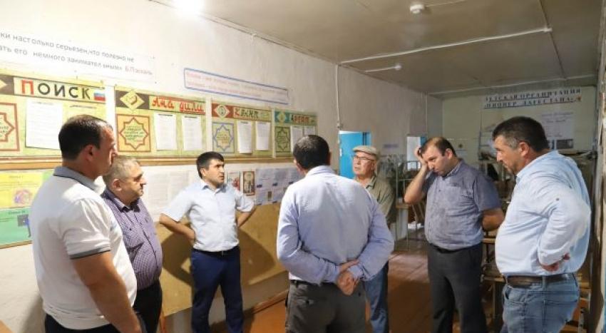 В Табасаранском районе продолжается реализация проекта «100 школ»