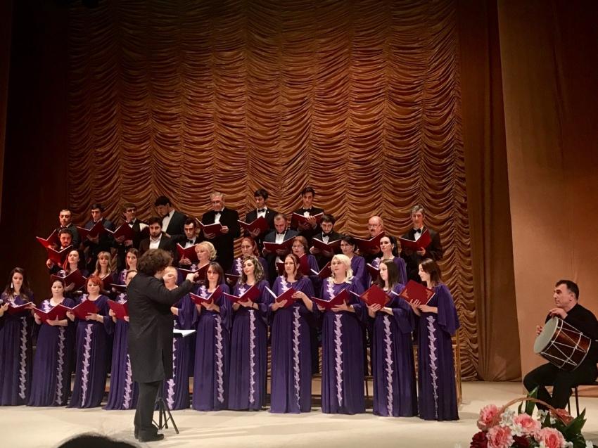 Вечер хоровой музыки прошел в Махачкале