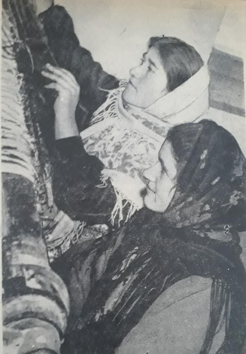 Ковровщицы Хучнинской ковровой фабрики (1967 г.)