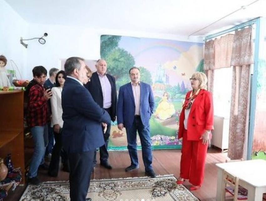 Глава Дагестана посетил предприятие по производству винограда в Дербентском районе