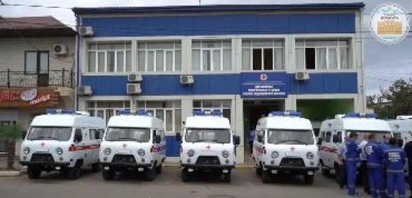 Дербентская межрайонная станция скорой помощи пополнилась  новым оснащенным медицинским транспортом