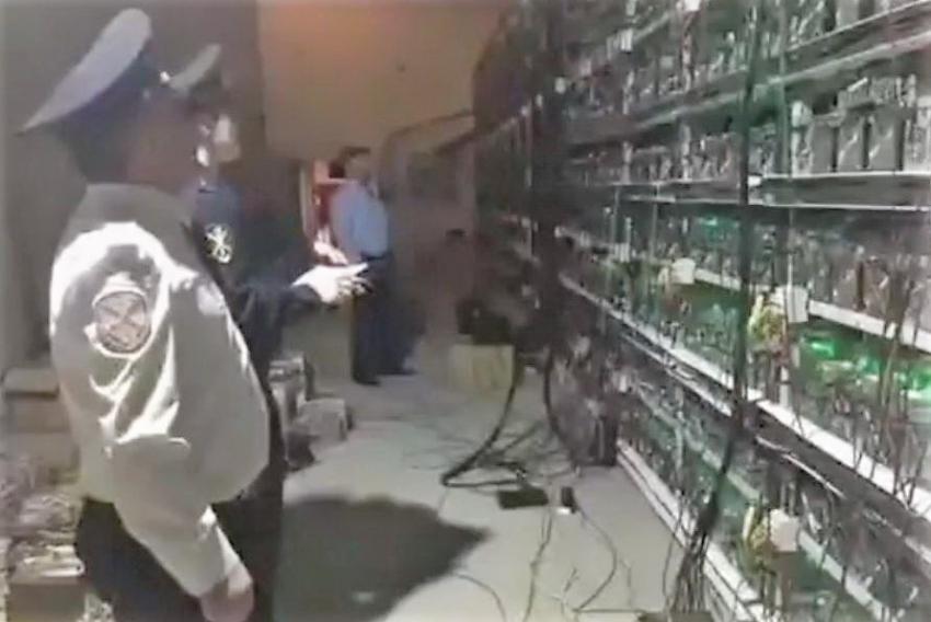 В Даг. Огнях полиция обнаружила майнинг-ферму