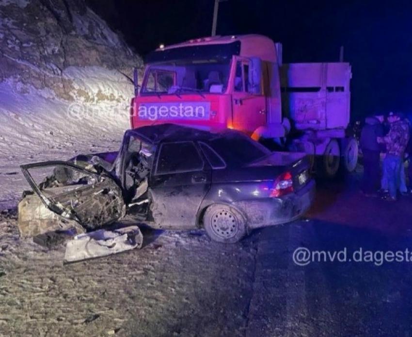 В ДТП в Унцукульском районе погиб один человек