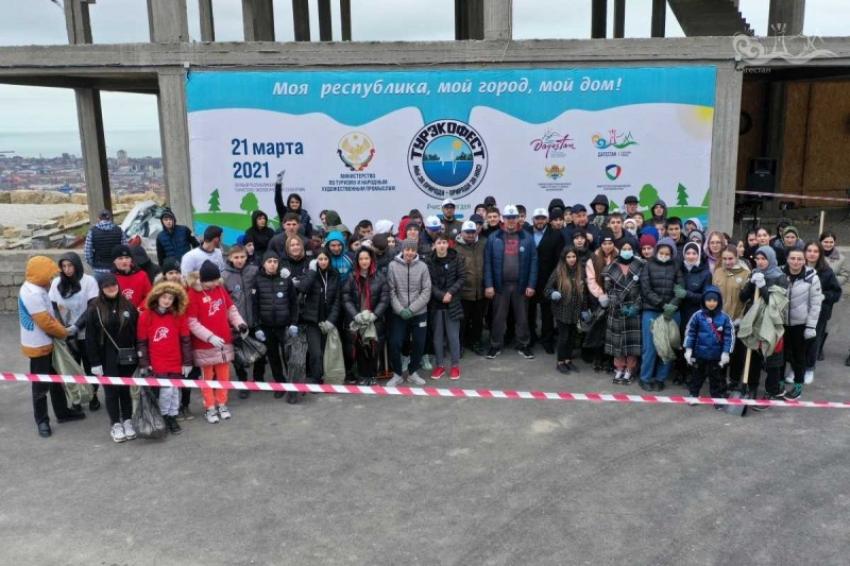 В Махачкале прошла экологическая акция «Чистые игры»