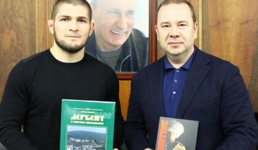 Хабиб Нурмагомедов встретился с прокурором Дагестана