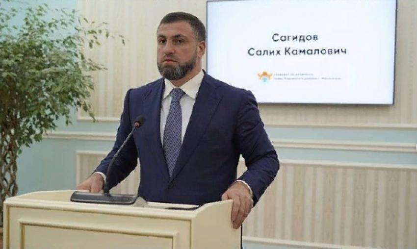 Салих Сагидов вновь возглавил Кировский район Махачкалы