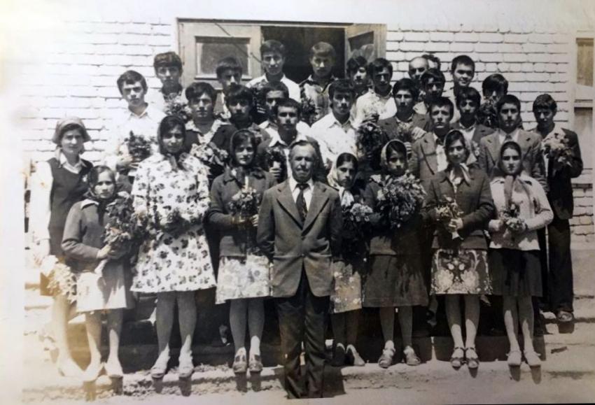 Выпускники Хучнинской СОШ 1978 года
