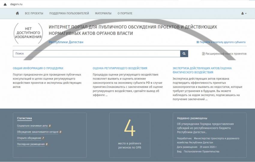 Институт оценки регулирующего воздействия как форма взаимодействия бизнеса и власти