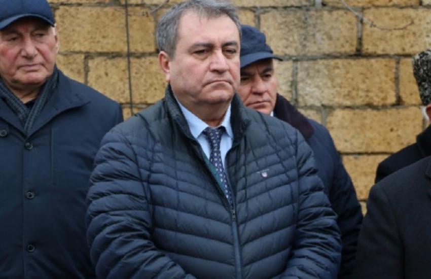 Мавсум Рагимов принял участие в открытии мемориальной доски Адилю Кулиеву