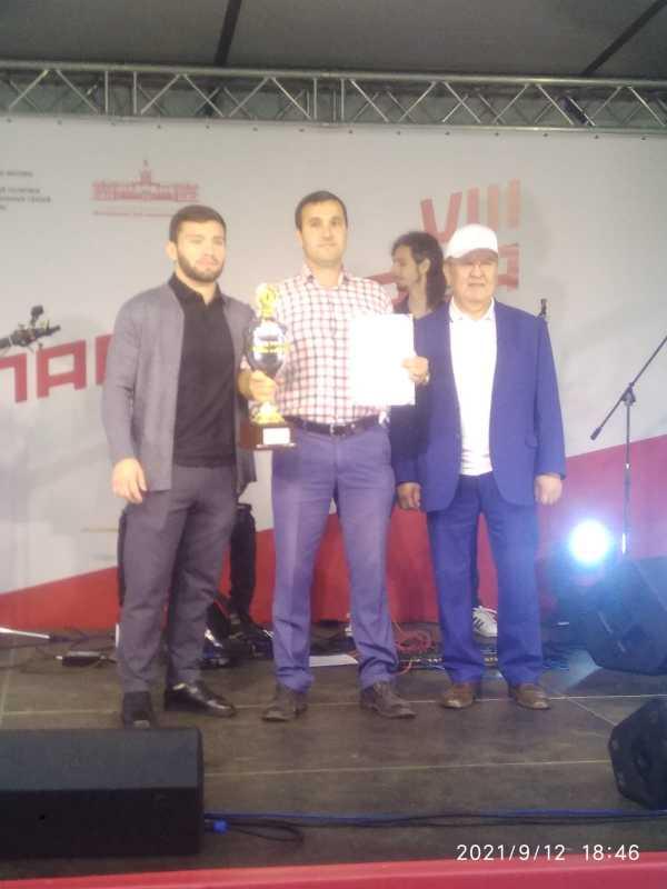 Команда Дагестана победила в спартакиаде землячеств и НКО г. Москвы