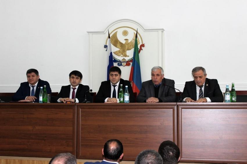 В Табасаранском районе представили нового главу муниципалитета