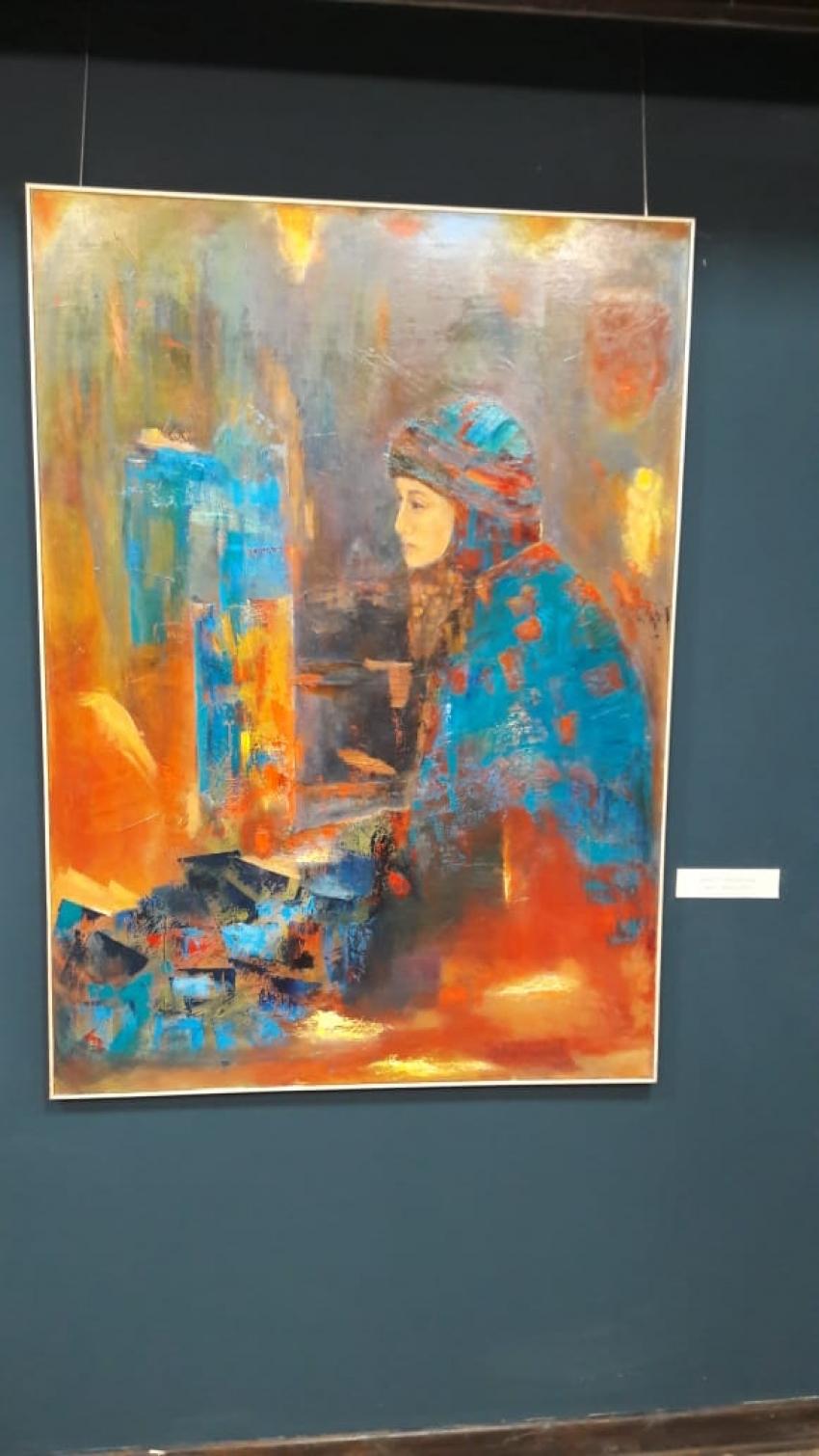 В Этноцентре Махачкалы прошло открытие выставки Шахнабат Алимагомедовой «Первая»