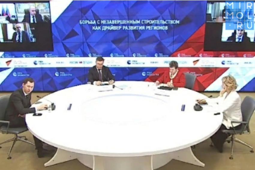 Сергей Меликов рассказал о мерах по сокращению объектов незавершенного строительства