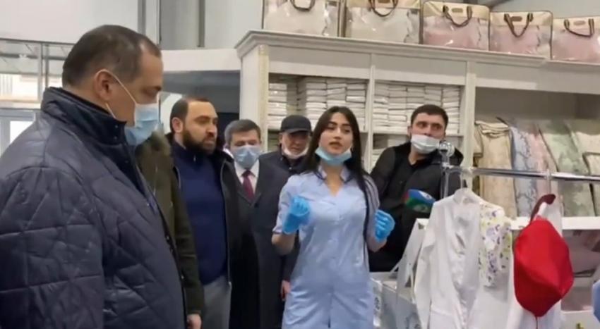 Меликов с рабочим визитом посетил Хасавюрт