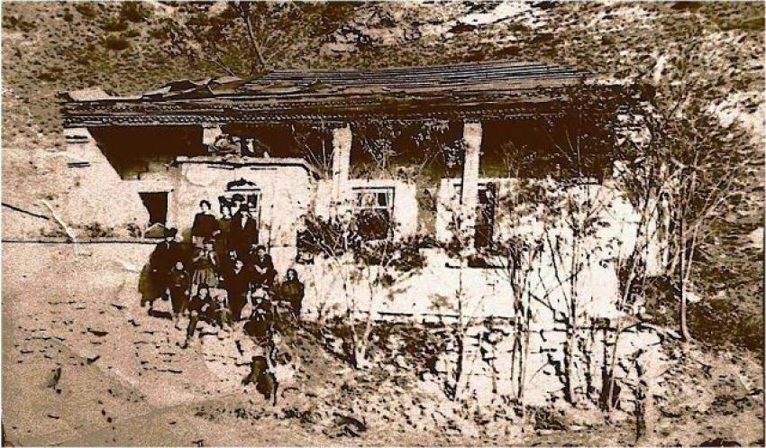 Развалины старой мечети в с. Чулат
