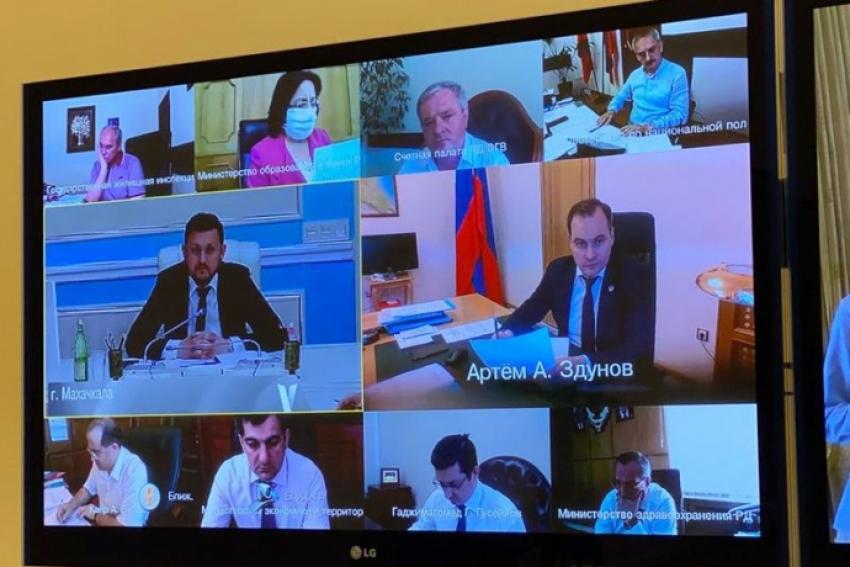 В Правительстве РД обсудили вопросы поддержки экономики