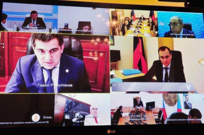 В правительстве Дагестана рассмотрели прогноз социально-экономического развития