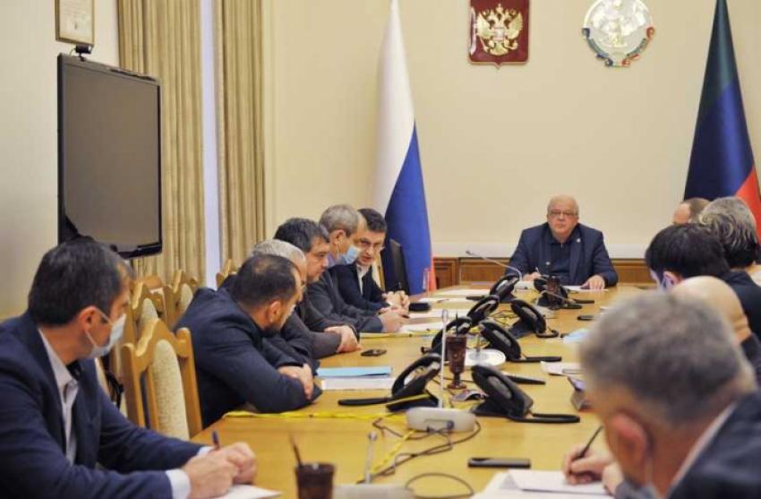 В правительстве Дагестана рассмотрели проблему загрязнения воды в КОР